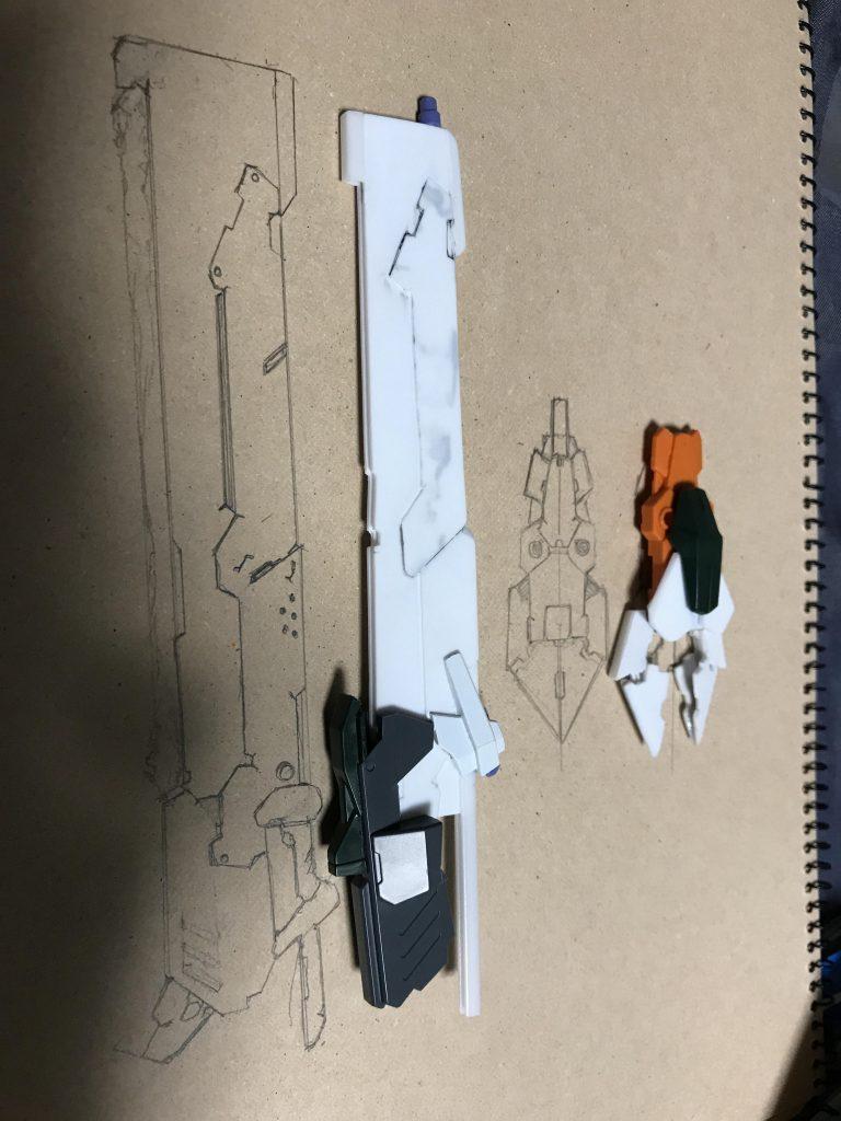 バスターソード バスターガンダム 制作工程5