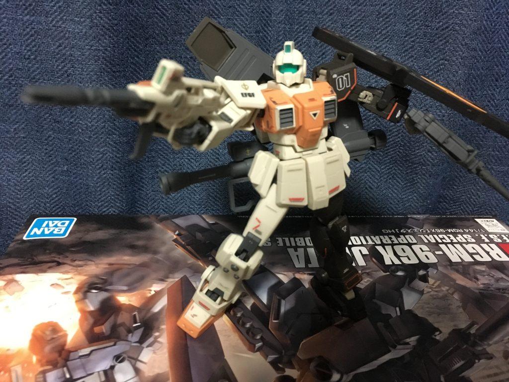 陸戦型ジム改(Kei.T専用機) アピールショット3