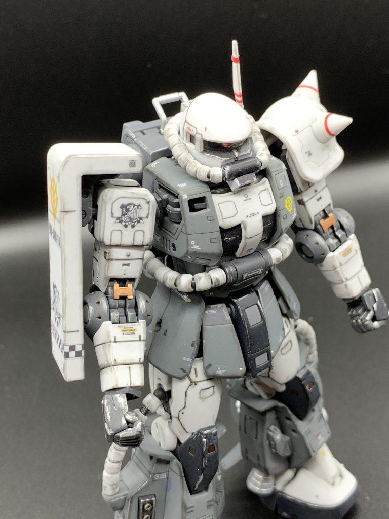RG エリック・マンスフィールド専用ザクⅡ アピールショット6