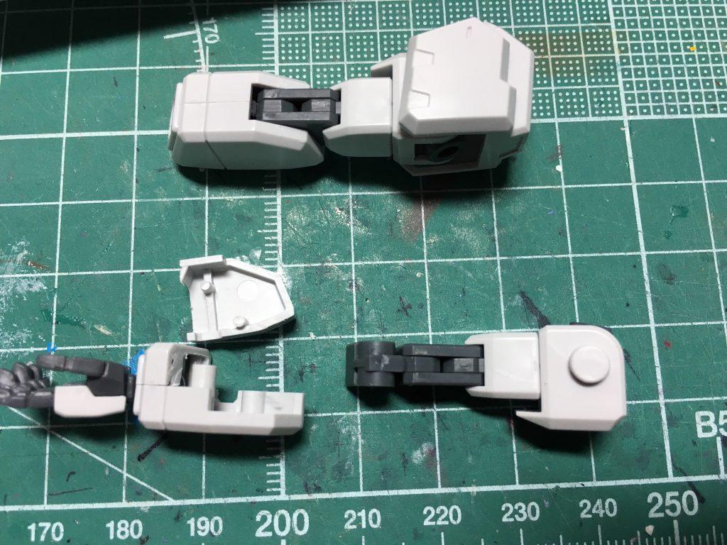 ガンダムTR-1 ヘイズル改 / Gパーツ[フルドド] 制作工程2