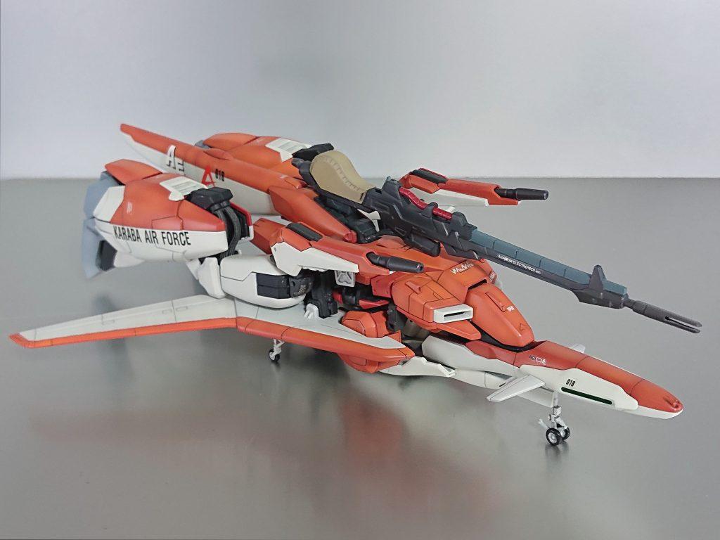 MSZ-006A1 WAVE RIDER (形態) アピールショット1
