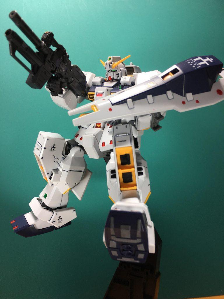 ガンダムTR-1 ヘイズル改 / Gパーツ[フルドド] アピールショット5