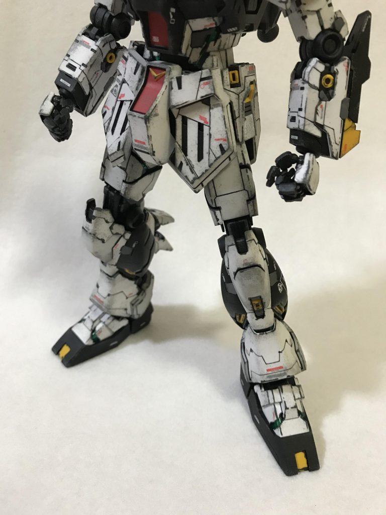MG1/100 RX-93 νガンダム ver.KA ウェザリング アピールショット7