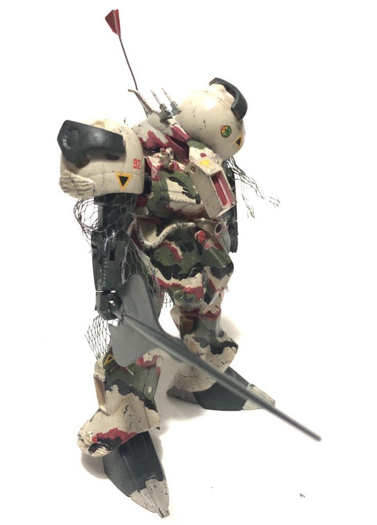 旧キット「陸戦型R・ジャジャ指揮官仕様」 アピールショット3