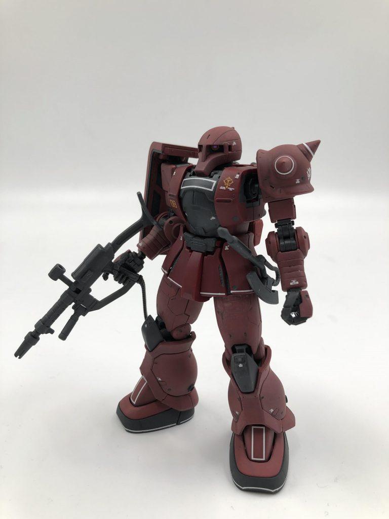 MS-05S シャア専用ザクI