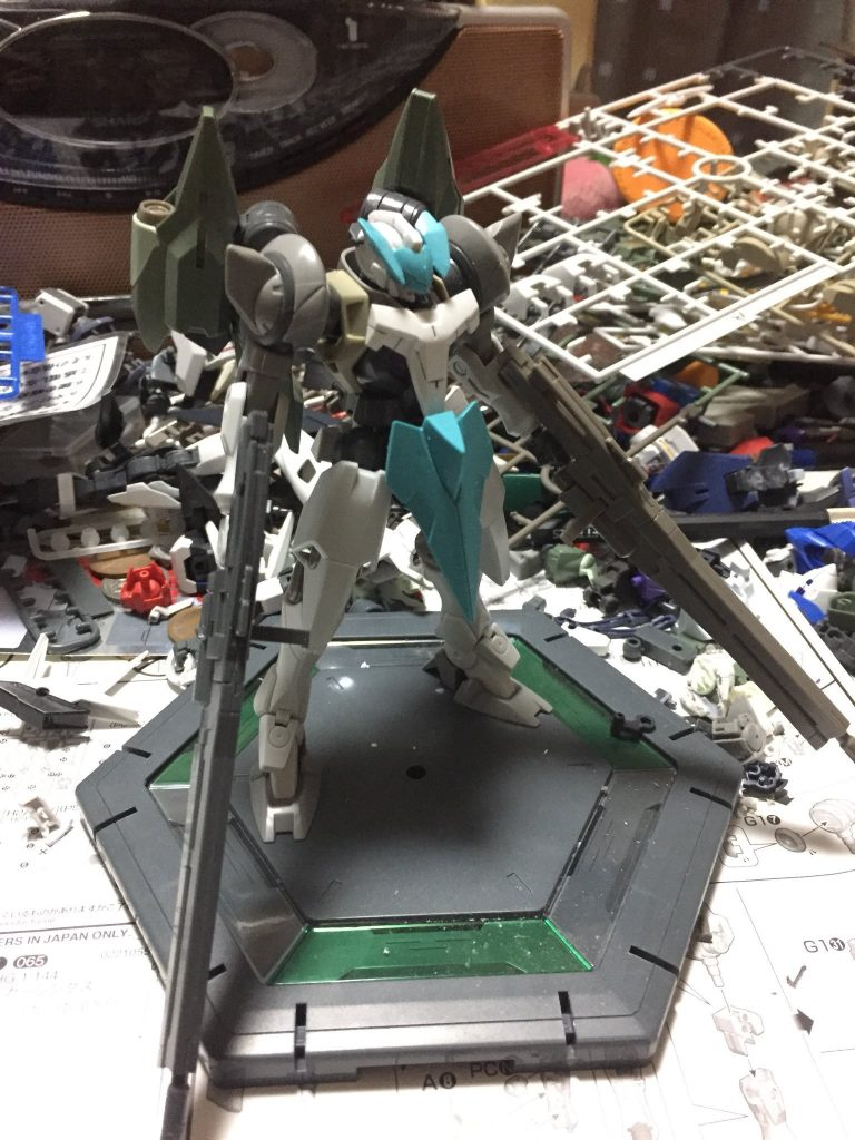 GN-セルペンテ:弐型 制作工程2