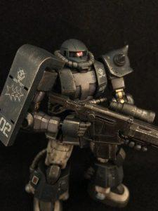 06R-1Aマッシュ機&black Tri-Stars
