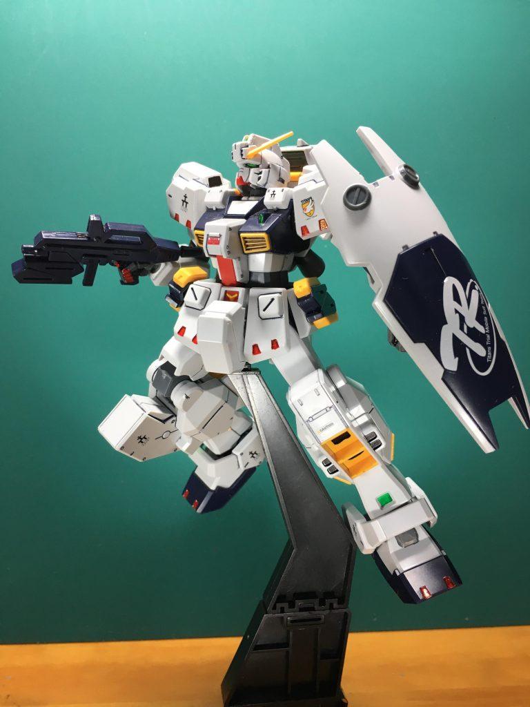 ガンダムTR-1 ヘイズル改 / Gパーツ[フルドド] アピールショット1