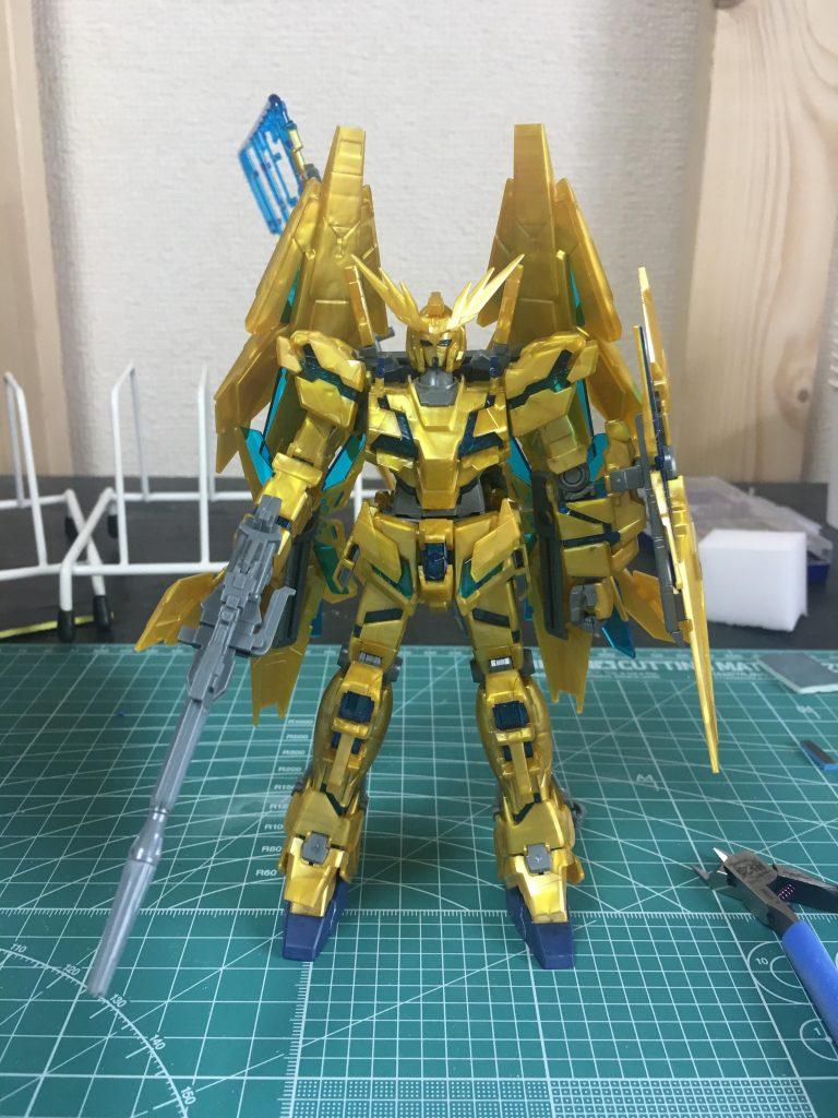 RX-0 UNICORN 03 PHENEX 制作工程1