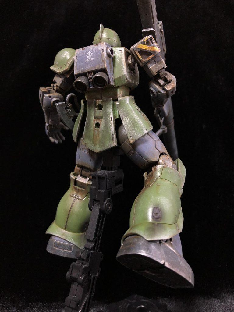 MS-05 ザクⅠ アピールショット3