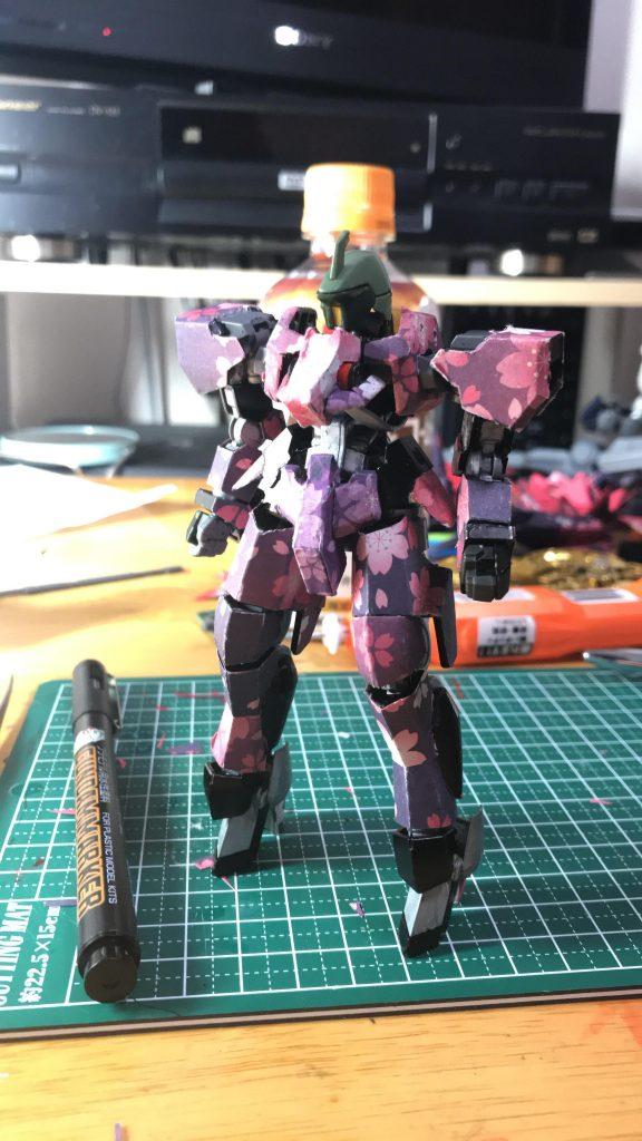 桜グレイズ 制作工程1
