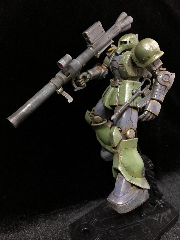 MS-05 ザクⅠ アピールショット4