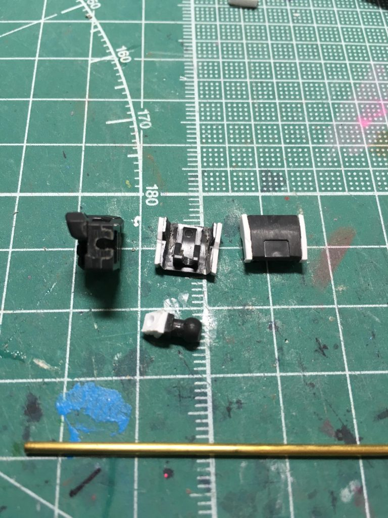 ガンダムTR-1 ヘイズル改 / Gパーツ[フルドド] 制作工程4
