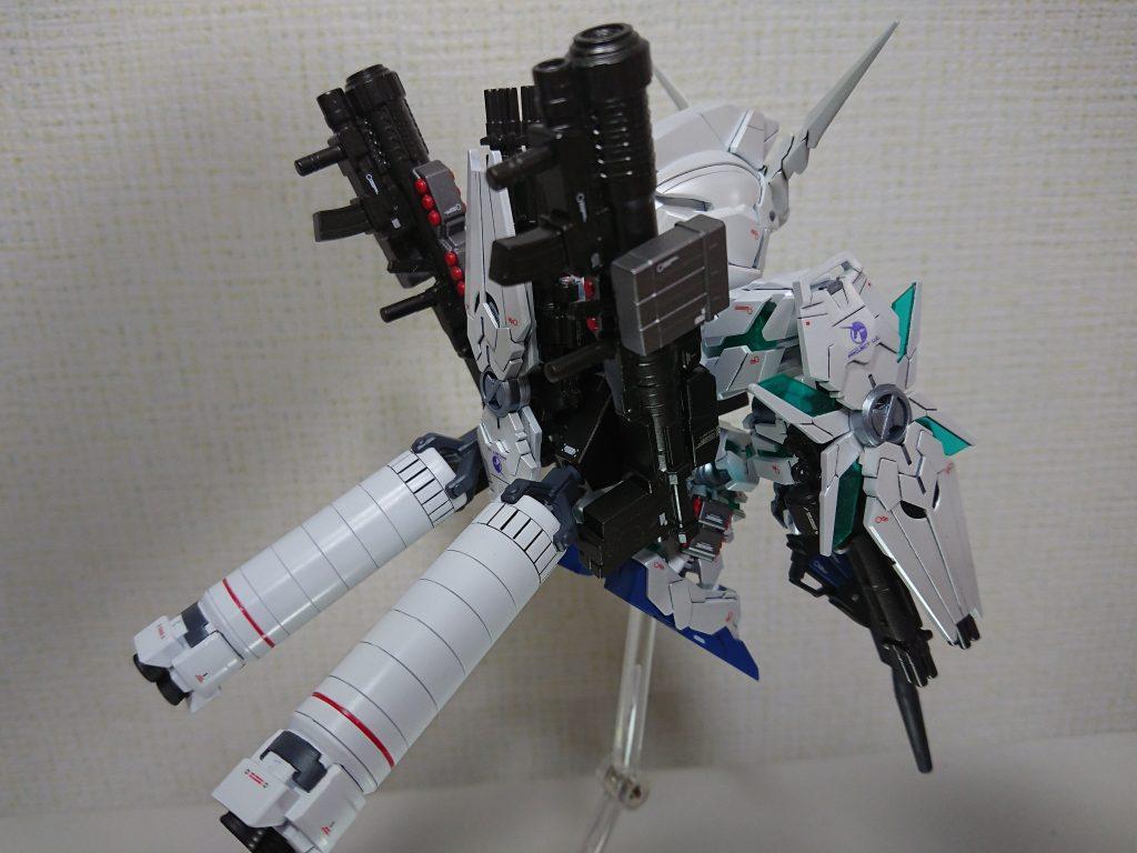 BB戦士 フルアーマーユニコーンガンダム アピールショット6