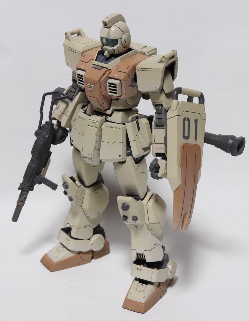 陸戦型ジム 制作工程3