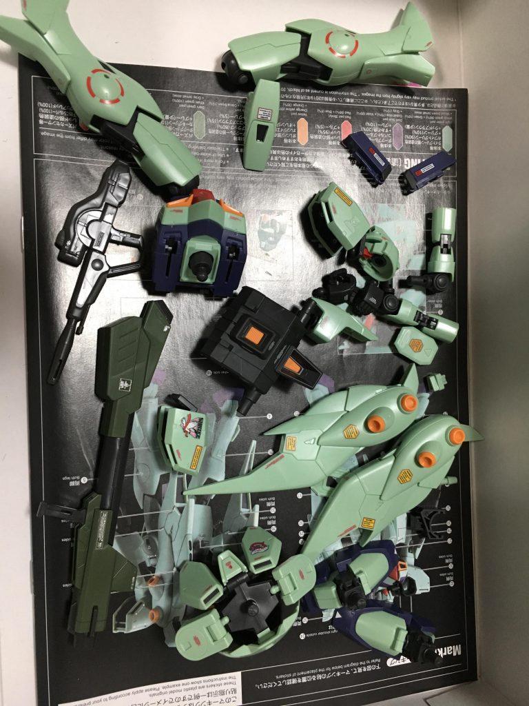 RE ガンブラスター 制作工程2