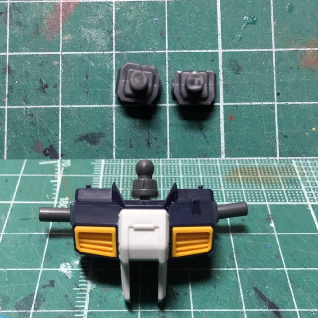 ガンダムTR-1 ヘイズル改 / Gパーツ[フルドド] 制作工程1