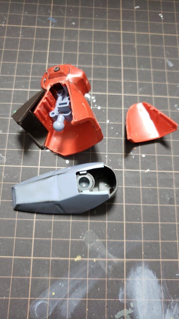 MSA-099 リックディアス 制作工程3