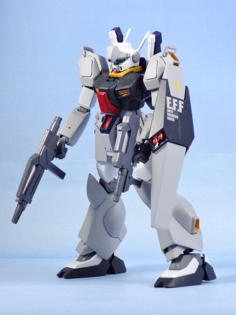 RGM-90 ジェダ改良型(制式採用機) 【1/144旧キット・HGUC改造】  アピールショット1