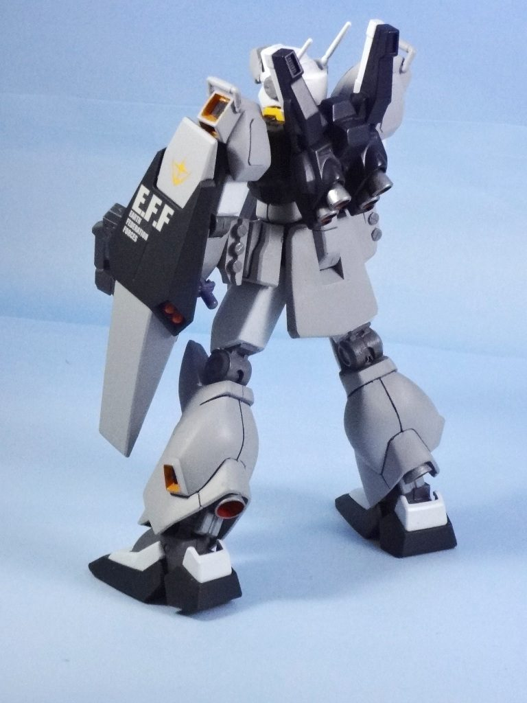 RGM-90 ジェダ改良型(制式採用機) 【1/144旧キット・HGUC改造】  アピールショット2