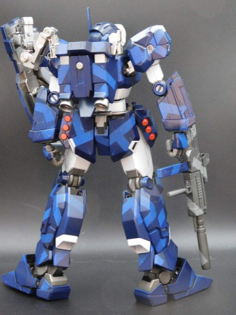 MG 1/100 RGM-96X ジェスタ アピールショット2