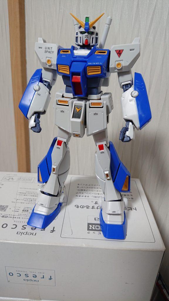 MG ガンダム NT-1 Ver.2.0 アピールショット3