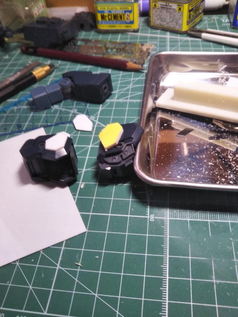 MG 1/100 RGM-96X ジェスタ 制作工程3
