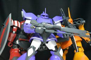 高機動型ゲルググ(紫)