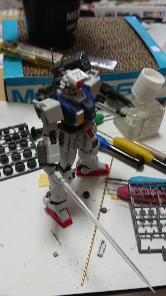 RX-78Gホワイトベアー 制作工程2