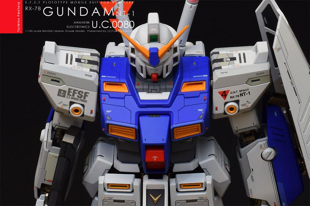 """GUNDAM NT-1 """"ALEX"""" MG VEr.2.0 アピールショット3"""
