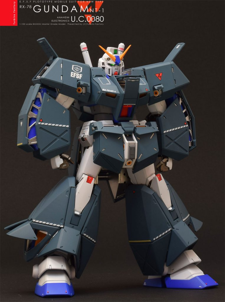 "GUNDAM NT-1 ""ALEX"" MG VEr.2.0 制作工程3"