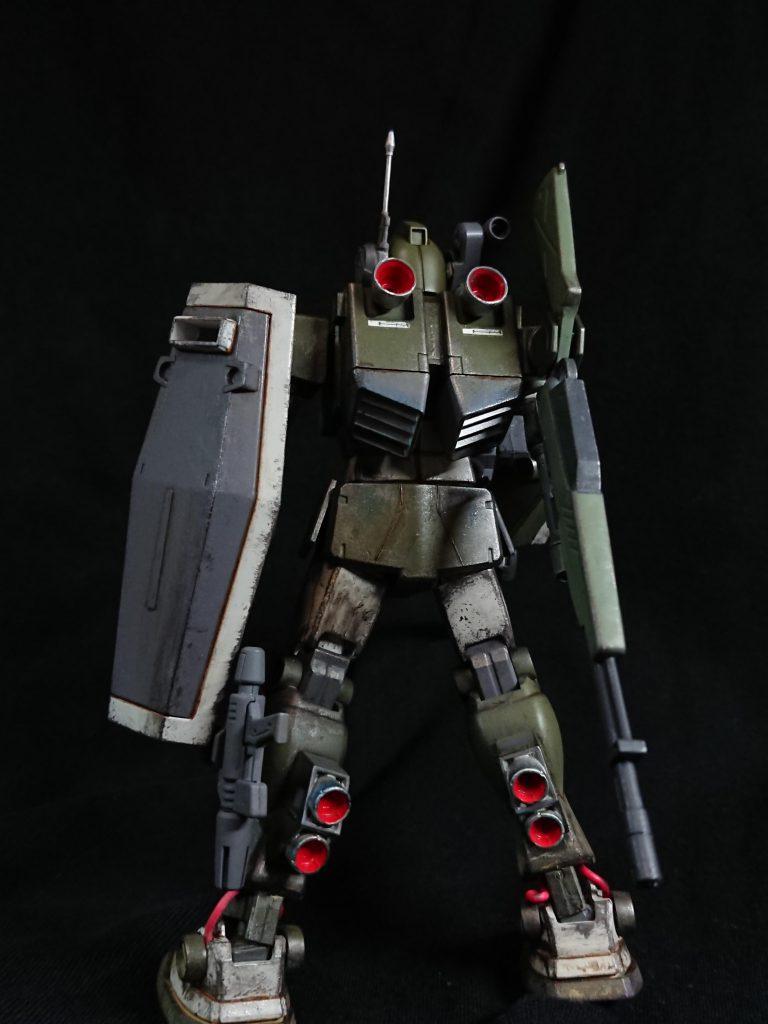 ジムスナイパーカスタム(陸戦仕様) アピールショット1