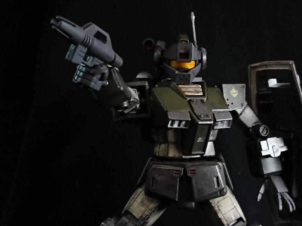 ジムスナイパーカスタム(陸戦仕様) アピールショット6