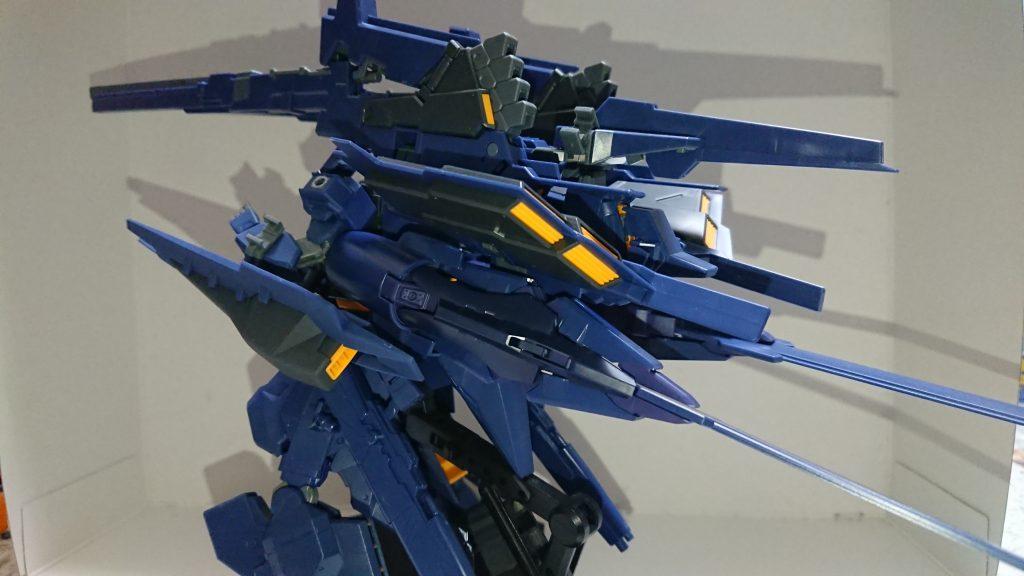 TR-6[アドバンスドウーンドウォート]2号機重装型フルアーマー 制作工程1