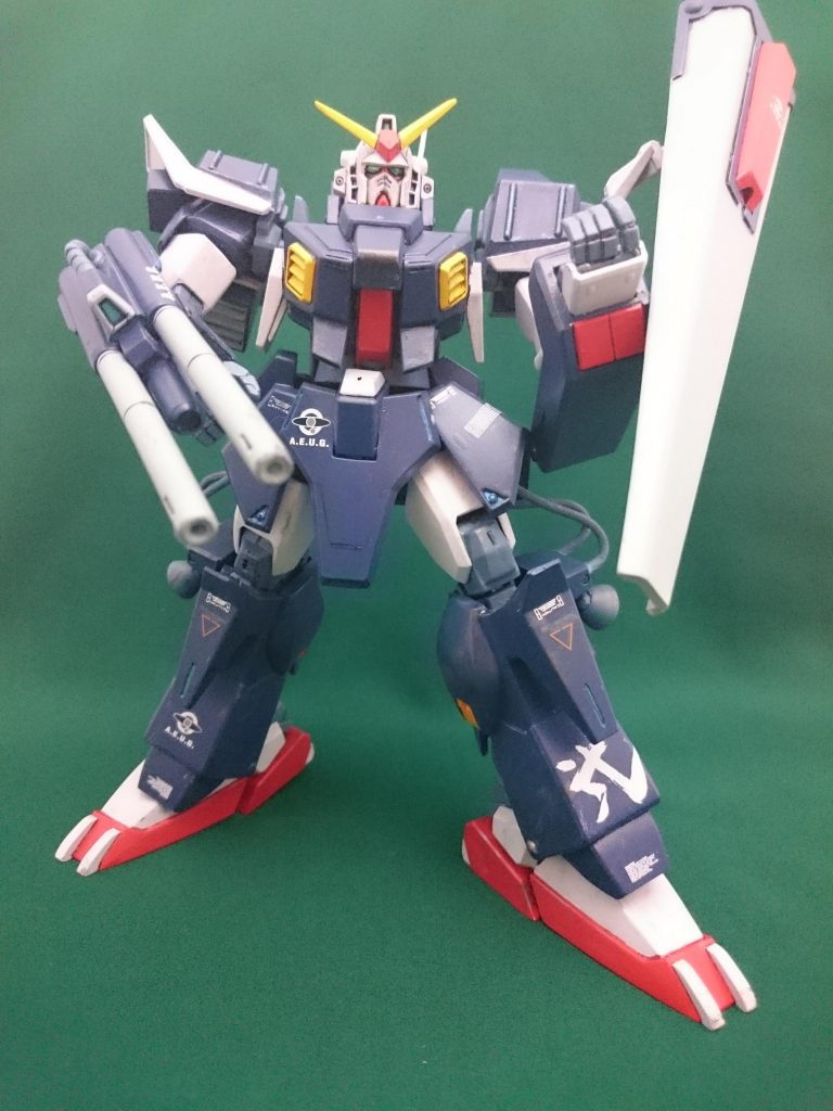 MGフルアーマーガンダムmarkⅡ【B-CLUB改造レジン使用】 アピールショット8