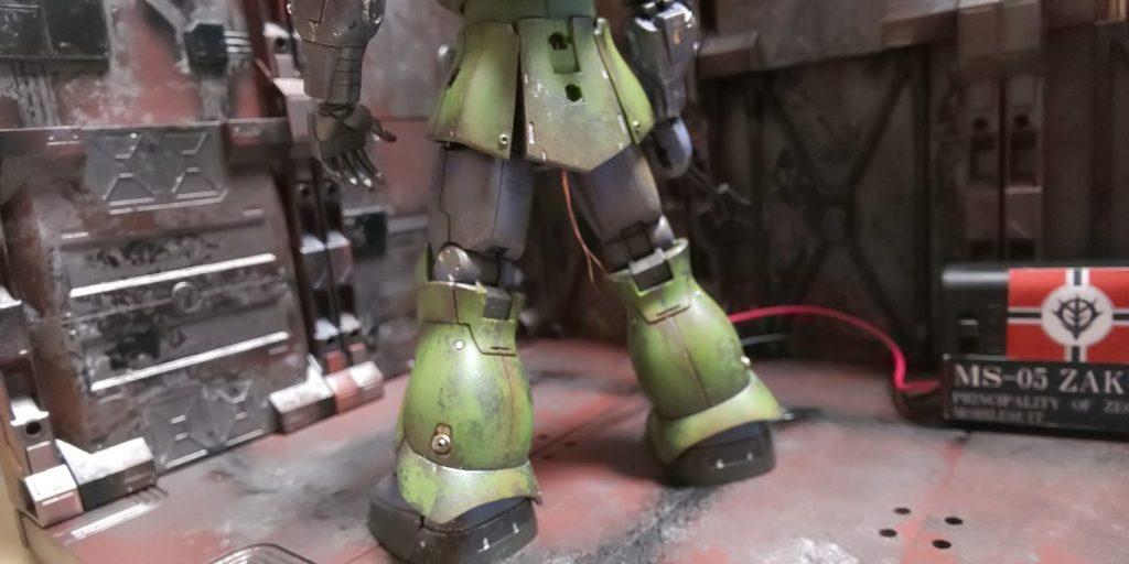 往年の勇者!ザクⅠ  (旧ザク) アピールショット6