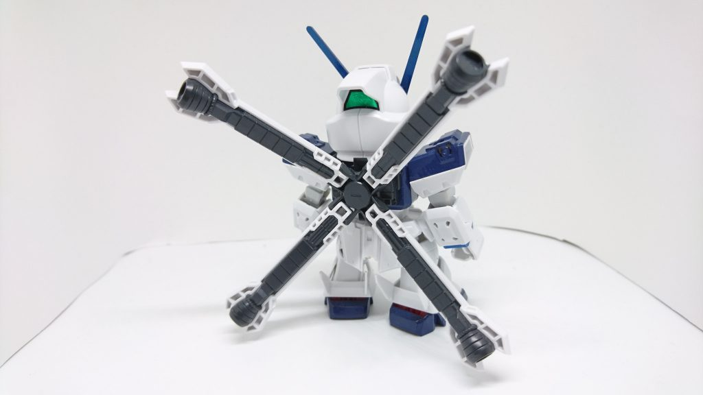 頼電クロスボーンガンダム アピールショット1