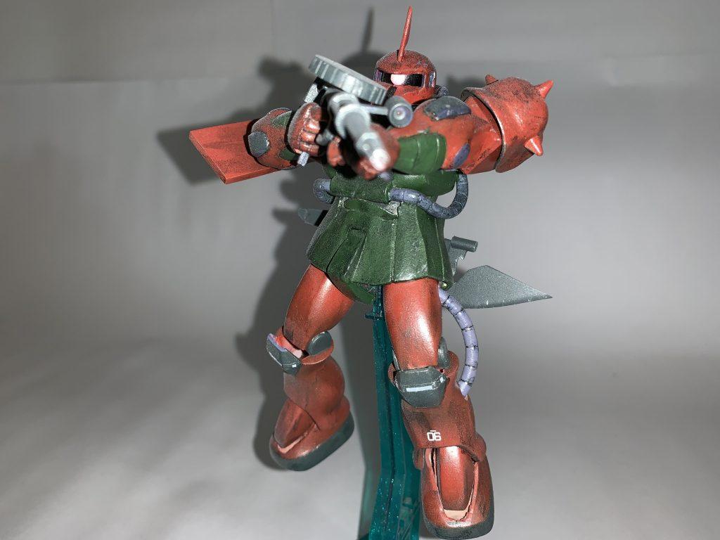 ガルマ・ザビ専用ザクII アピールショット1