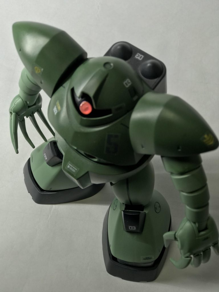 MSM-03 ゴッグ量産型ザクカラー アピールショット3