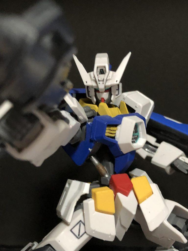 ガンダムフレーム AGE-1 アピールショット3