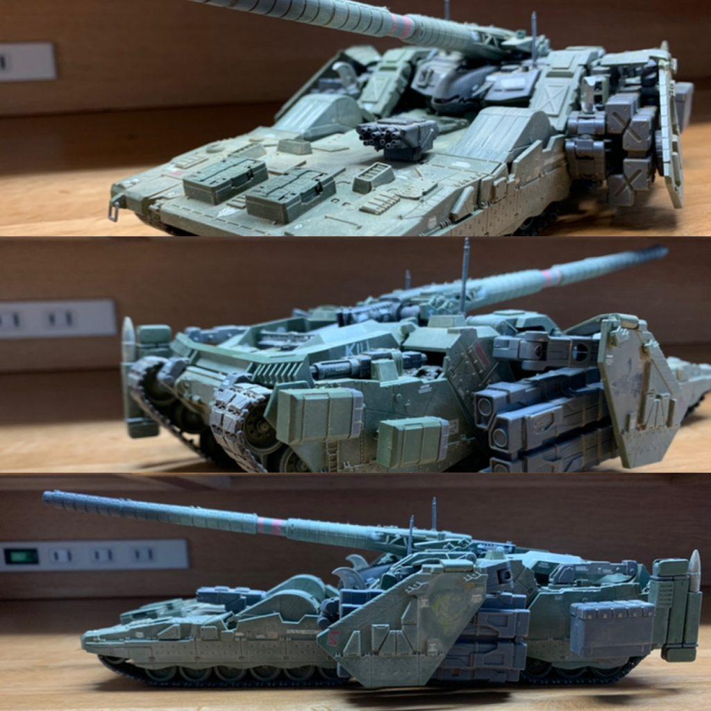 EX  YMT-05  ヒルドルブ(武装強化型) アピールショット3