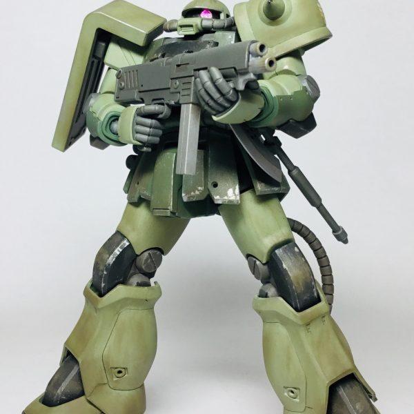 HG ザクⅡ F-2型 (完成)