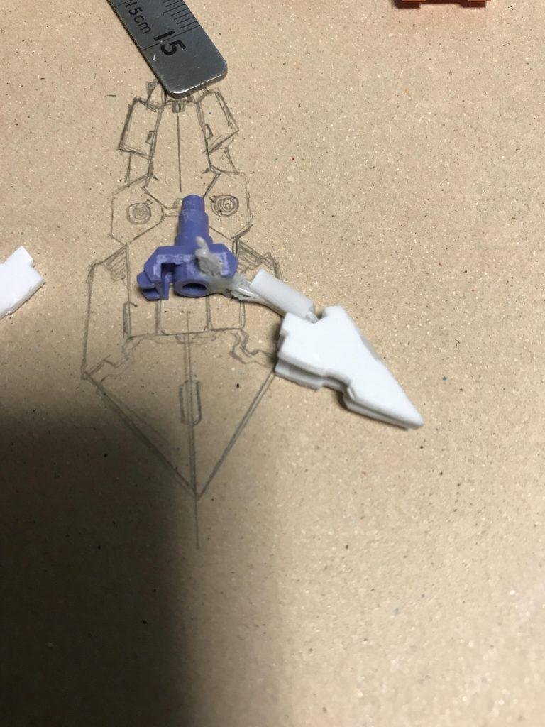 バスターソード バスターガンダム 制作工程7