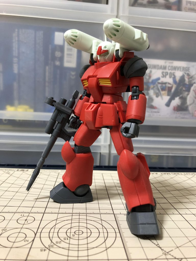 RX-77-2 ガンキャノン 制作工程1
