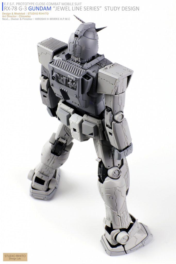 "【GML】RX-78 G-3 GUNDAM  ""JEWEL LINE SERIES"" STUDY DESIGN アピールショット5"