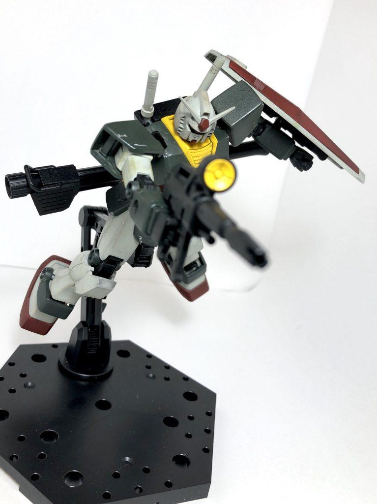 HGUC RX-78 ガンダム アピールショット1