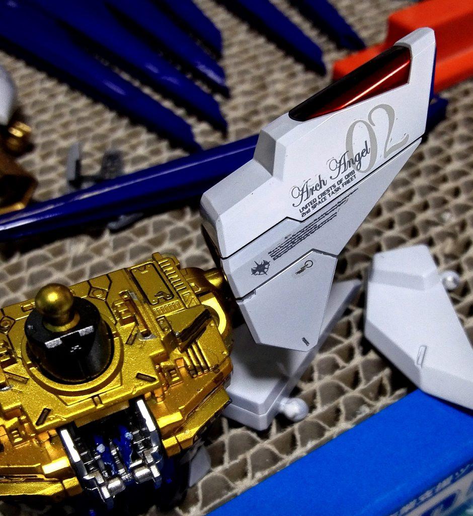 MG ストライクフリーダム 制作工程4