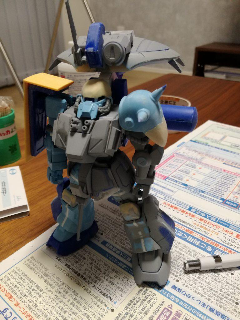 ハイザック(EWACユニットカスタム) アピールショット4
