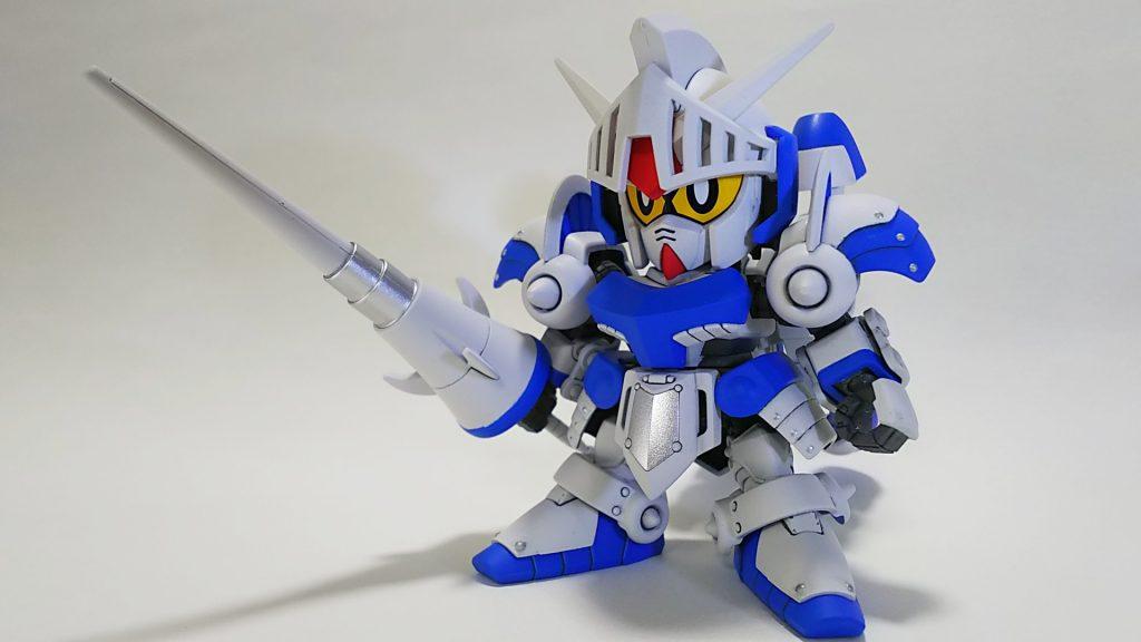 騎士ガンダム(ICE WHITE COLOR) アピールショット1