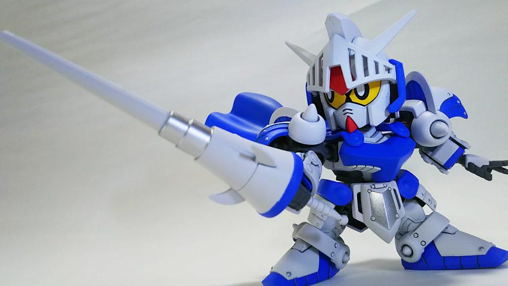 騎士ガンダム(ICE WHITE COLOR) アピールショット6